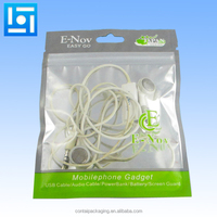 Factory Customize Plastic CD Packaging/Computer Cable Package Zip Lock Bag Colored Wire Wrapping Tools Bag/Cable Storage Bag