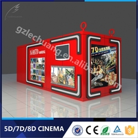 2016 Amusement Park Equipment For Sale 5D Vr Simulator Advanced Movie Theater Equipment