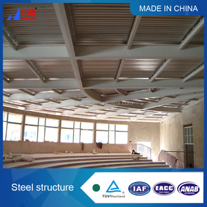 Low cost light steel structure fabrication, warehouse,building