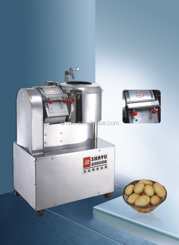 Potato Peeling and Cutting machine