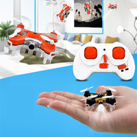 Sample support mini helicopter game with camera for aerial photography