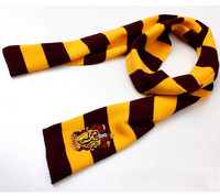 High quality harry potter gryffindor scarf with magic school LOGO