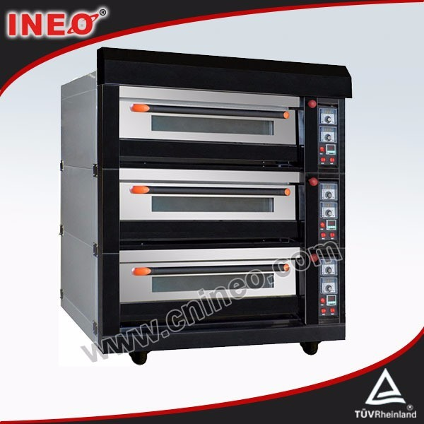 Commercial Bakery Equipment pizza gas oven/pizza oven cooking