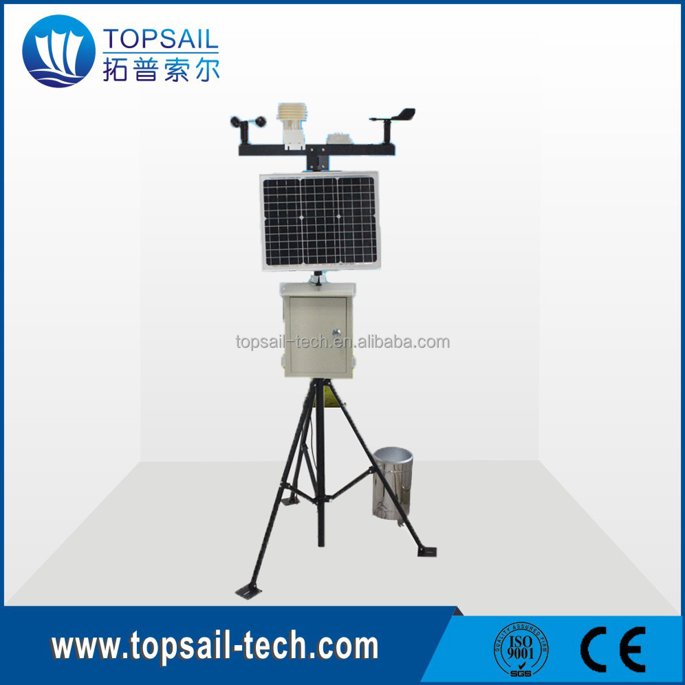 Dust Particulate Monitoring System, PM2.5 weather station with tripod bracket