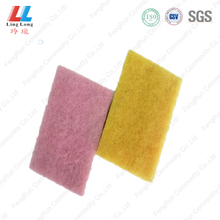 2014 hot sell kitchen foam sponge scouring pad