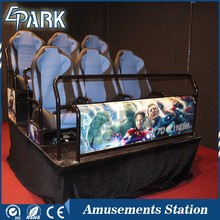 Hottest motion chair cinema theatre 5d cinema manufacturer in Guangzhou