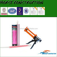 Low moisture sensitivity epoxy injection-type anchor adhesive for bolt planting