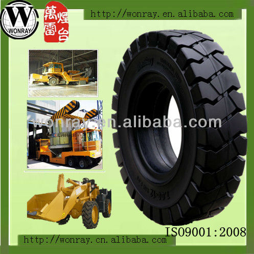 4.00-8 forklift airless solid tires for sale (various size)