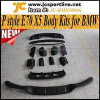 2011UP P Style E70 X5 Body Kits for BMW X5 Car Bumper Bodystyling Tunning Parts