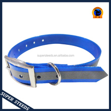 wholesale waterproof reflective strap dog collar