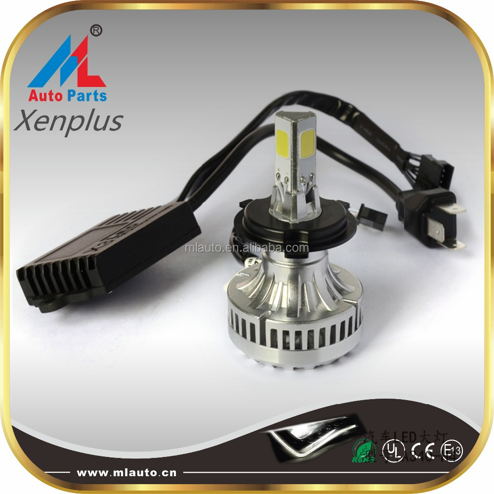 Newest auto car light H4 36w 55w 60w 75w 12v 24v led headlight tuning light