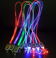 OEMPROMO Flashing LED Necklaces and led flashing lanyard