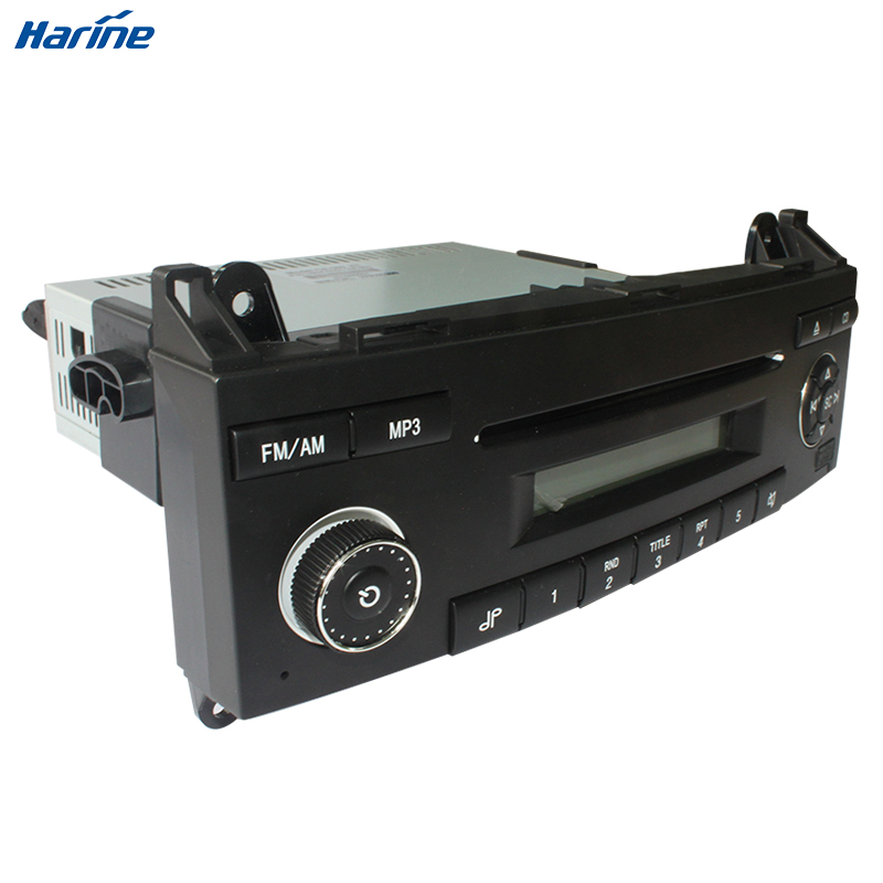 vehicle bus coach car audio player with mp3 cd fm am