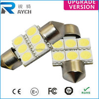 Car Dome 6SMD 5050 31mm LED Bulb Light Interior Festoon Lamp White New