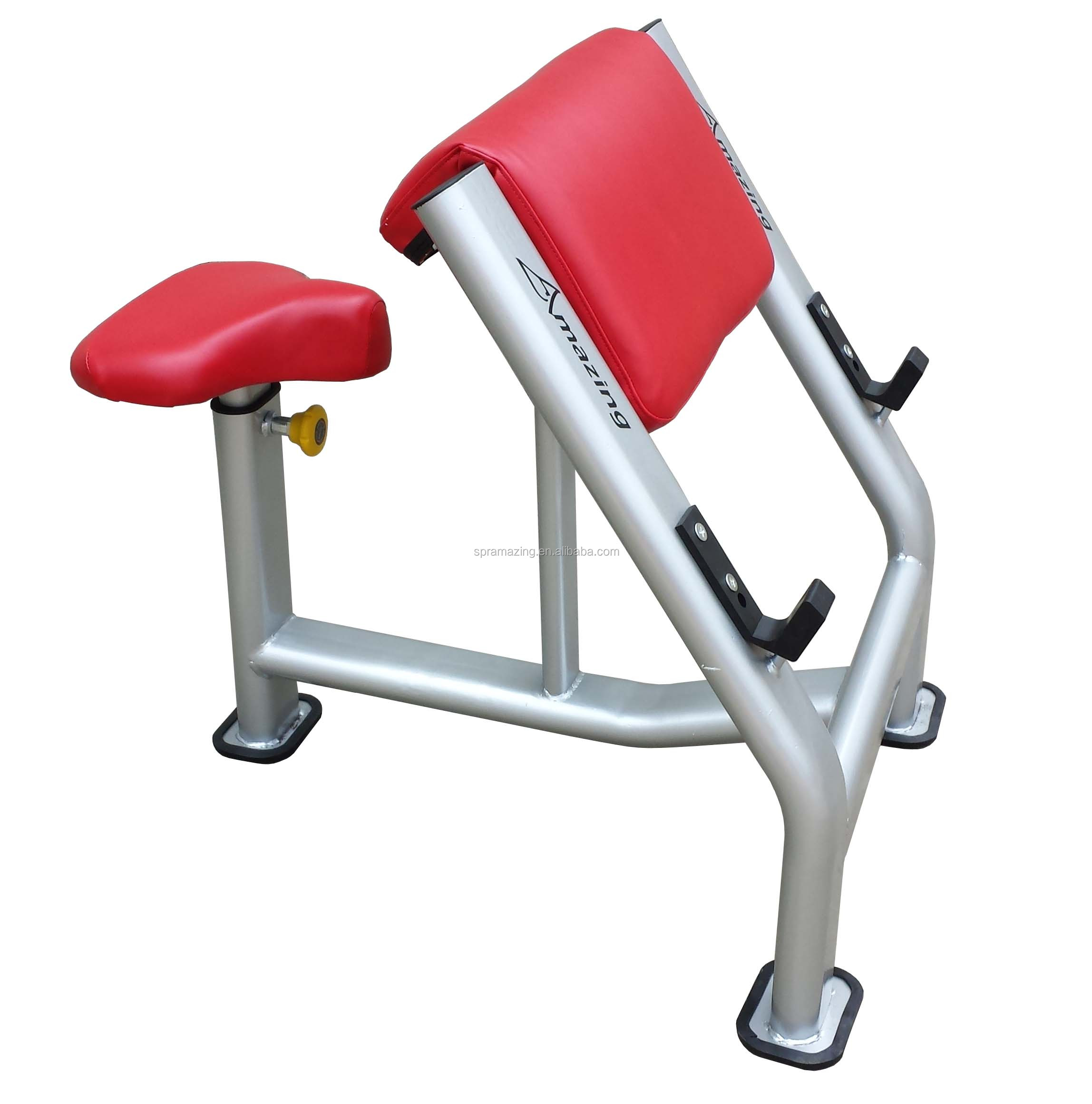 Preacher curl bench Commercial gym fitness equipment made in Guangzhou factory AMA-8825