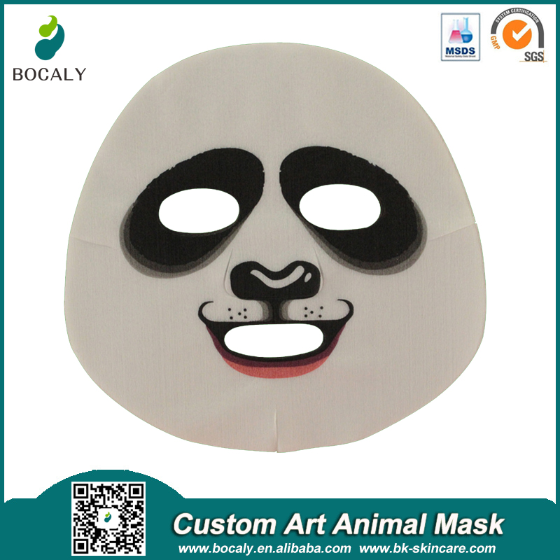 Custom Korea Face Mask Design With Art Animal Lace Fashion Printing