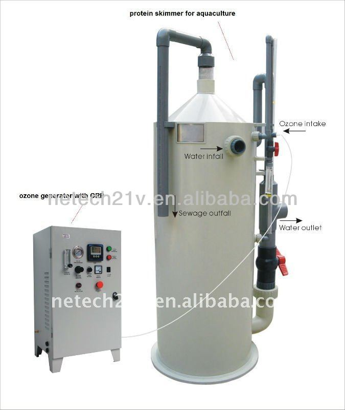 10T-200T Large Fish Hatchery Water Treatment Equipment