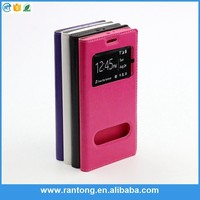 Factory Popular different types pu wallet blank cell phone case from manufacturer