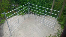 10ft Long Tube Goat Panel Sheep Hurdle for Farm use