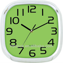 Sublimation Clock WH-6889A Green Dail With Black Numbers
