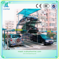 Lianhai Multi rows combined car lift parking system/mechanical parking system