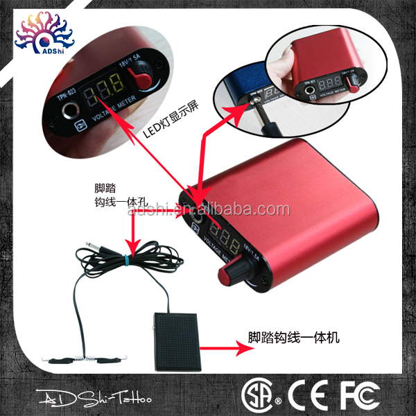 High Quality TATTOO Hurricane Hp-3 Power Supply Newest Professional HP-3 Touch Screen Hurricane Tattoo Power Supply