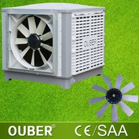 2015 wall installation plastic swamp cooler new type evaportative greenhouse air cooler