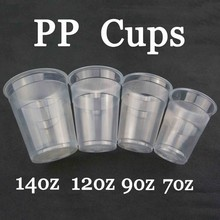Plastic PP Tasting Cup Of Tea 200ML