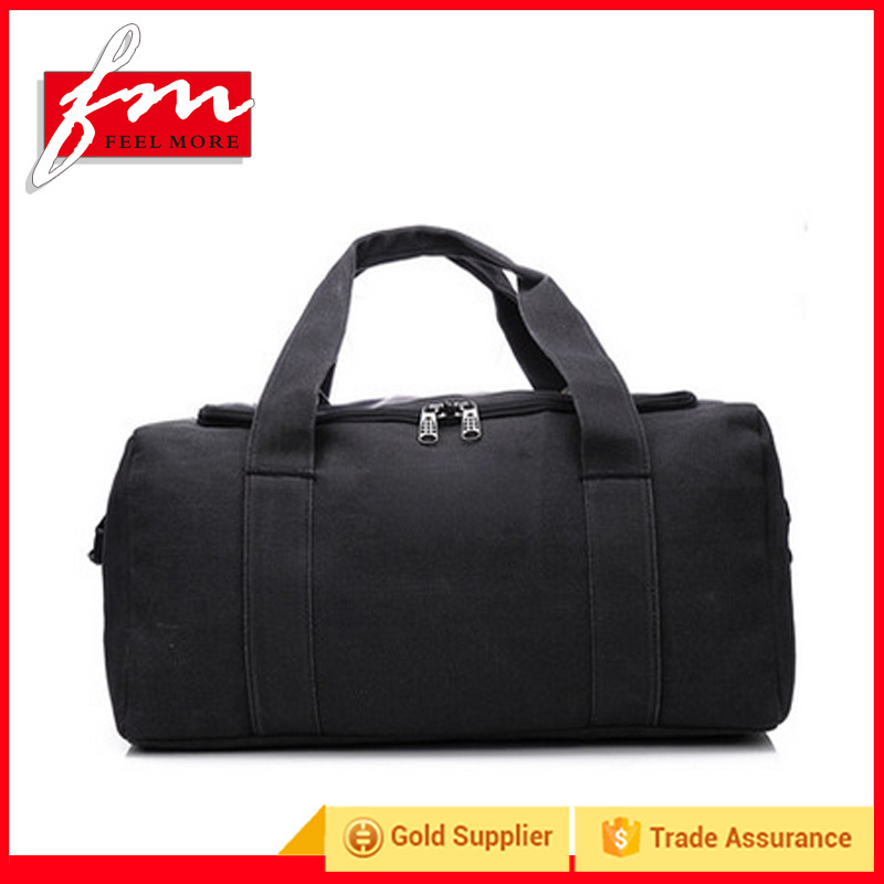 Durable Canvas shoulder travel bags,Foldable Travel bag Man Handbags