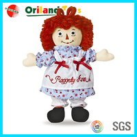 Custom promotion laugh cry doll
