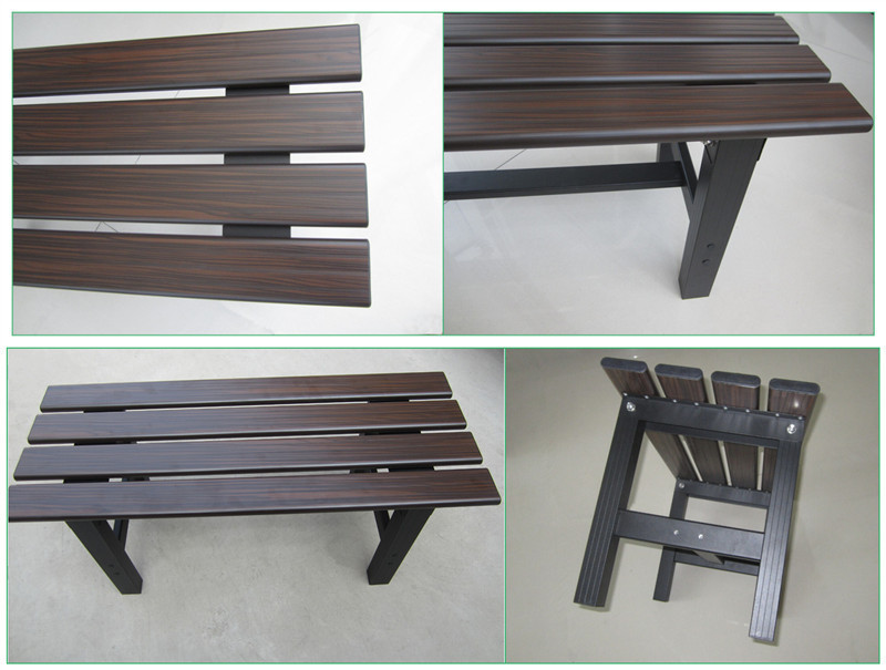 Beautiful texture wooden bench parts