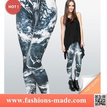 Fahion Women Leggings Print 3d World
