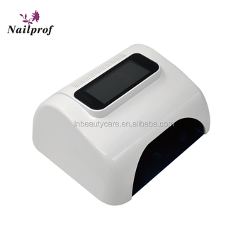 Sample is available! 48W nail led uv lamp& high power nail led gel uv gel curing dryer & nail lamp for 5 fingers curing