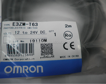 E3ZM E3ZM- E3ZM/ E3ZM-D62 2M OMRON Photoelectric switch New and orignal with best price omron switch.