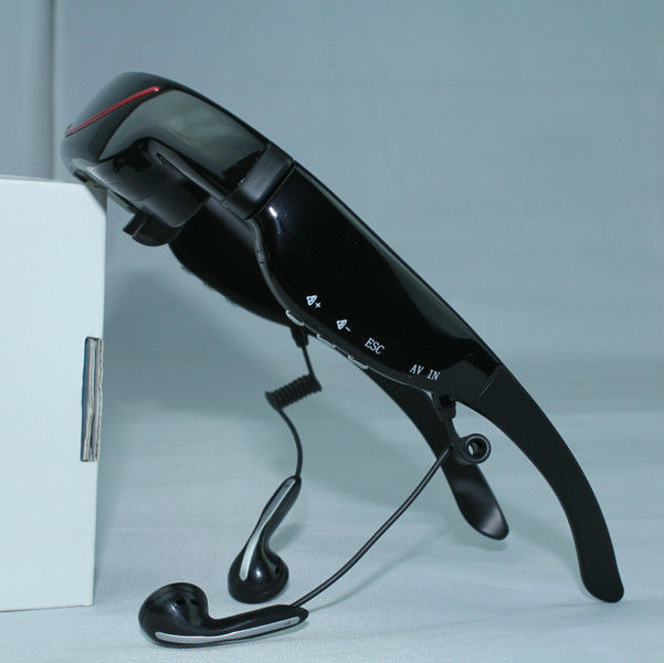 Best selling 72inch virtual screen video glasses full HD mobile theatre with wireless camera
