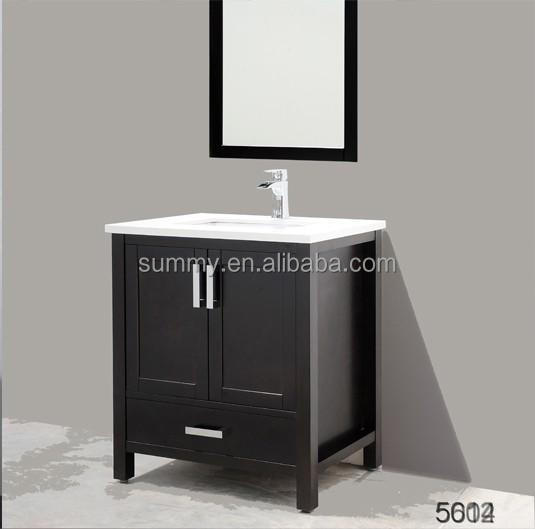 Hot sell OEM oakwood bathroom cabinet from China supplier