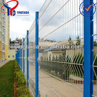 rotatable galvanized powder coated steel fence
