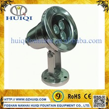 IP68 Stainless Steel High Power Underwater LED Fountain Lights 3W