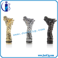 Hot design with colorful 510/ce4/atomizer 510 animal drip tip