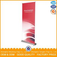 custom design printing promotion stand banner, mini roll up banner