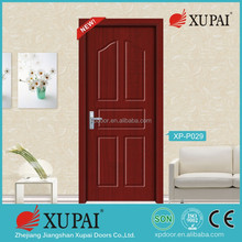 China zhejiang manufacture Position Interior swinging double pvc doors