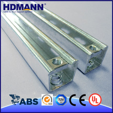 Aluminum C Channel With Accessories Customized Sizes