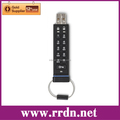 USB Storage ENCRYPTED USB DRIVE 8GB, Model: PFU008D-1BEK