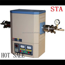 Perfect 1700C lab heating electric horizontal tube furnace