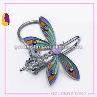 2013 Newest stylish butterfly magnetic smart purse keyfinder with clip