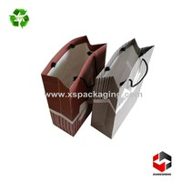 folding custom printed recycled paper bags
