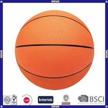 promotional cheap no logo rubber basketball