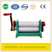 aluminum alloy 310mm manual bee wax foundation sheet machine