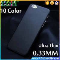 1pcs Matte Transparent Ultra-thin 0.3mm Back Case For iPhone 4 4S 5 5S 5c SE 6 6s 4.7 plus 5.5 PC Protective Cover Skin Shell