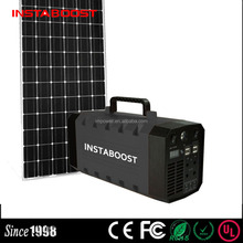 Instaboost 500W Solar Mobile Power Storage Portable Li-ion Battery Pack Power Supply For Home Use/Lighting System